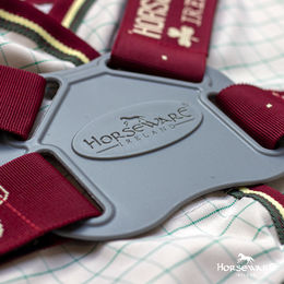 Horseware Amigo Hero Plus 900 vuoreton sadeloimi 0g, disc front closure