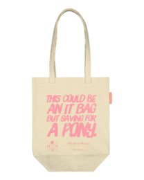 House of Horses Saving for a Pony Tote kangaskassi