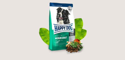 Happy Dog Fit&Well Medium Adult 4kg