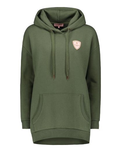 House of Horses La Vie en Rose Hoodie Army Green, huppari